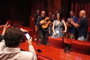 Barcelone: le parlement de Catalogne vote une motion de soutient à l'unanimité à la candidature de la rumba catalane au patrimoine mondial de l'UNESCO!