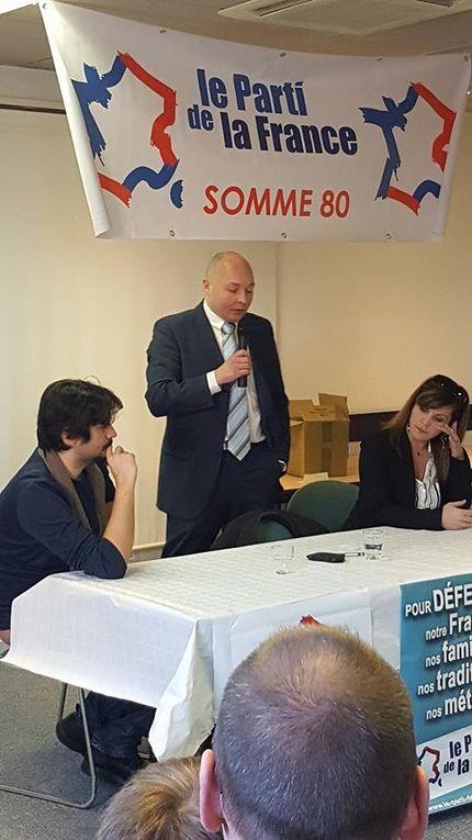 Compte-rendu de la galette des rois du Parti de la France à Amiens