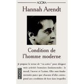 Hannah Arendt, Condition de l'homme moderne (The Human Condition) - Le blog de Robin Guilloux