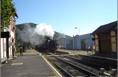 La gare de Massiac (Cantal)