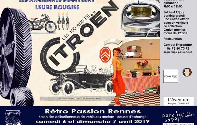 Salon Rétro Passion Rennes 2019
