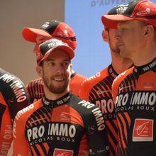 CyclismeLe Team Pro Immo poursuit sa moisson !  Les routes du Var réussissent au Team Pro Immo Nicolas Roux. 24 heures après la victoire de Clément Carisey sur le Tour du Centre-Var, Maxime Urruty s'est adjugé la première étape des Boucles du Haut-Var, ce dimanche.  - (Raphael ROCHETTE - - La Montagne - Actualité - DirectVélo)