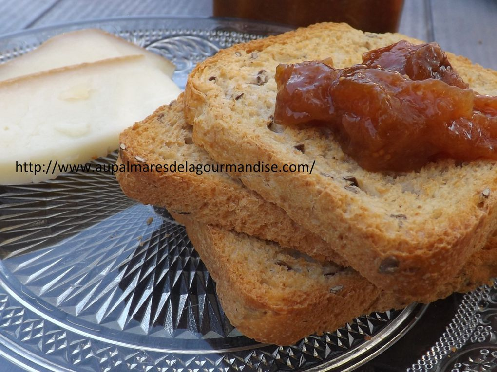 Confiture de figues, prunes d'Ente à la reduction de jus de pommes et agar agar Sucre naturel de pommes* Index Glycémique bas