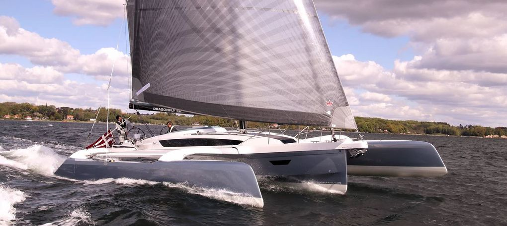 Les 3 nominés European Yacht of the Year 2021 Performance Cruiser : Corsair 880,  Dragonfly 40 et Grand Soleil 44 Performance