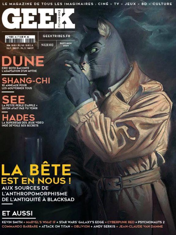 #GeekMagazine #N36 #blacksad #artwork #Blacksadmania #JuanjoGuarnido #Dessin #Dédicace #juandíazcanales #Dargaud #DarkHorseComic #NormaEditorial  #fanart #exclu #Tome6 #geektribes #geek