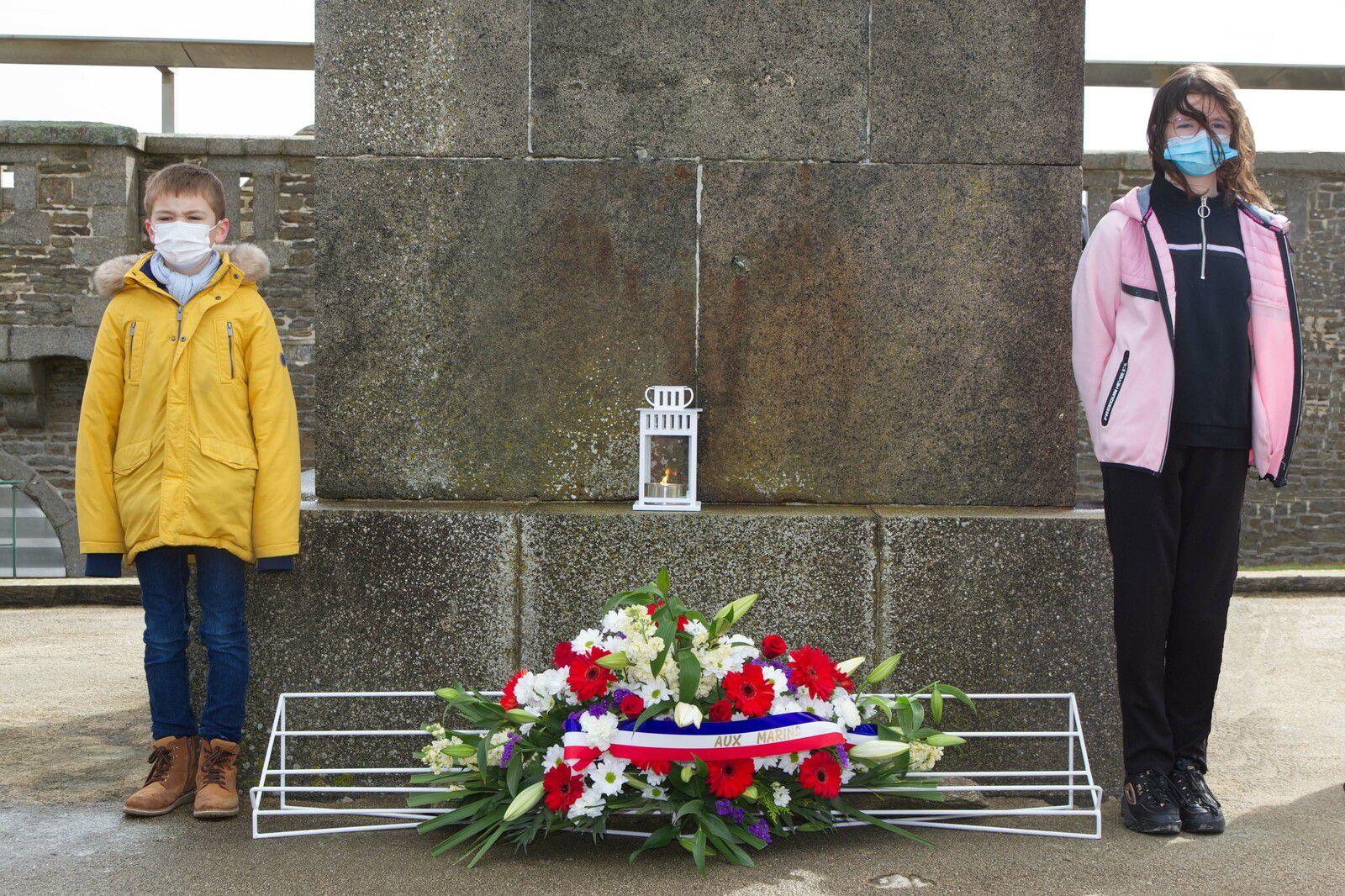 Cérémonie du souvenir - Aux Marins - Mémorial national des marins morts pour la France