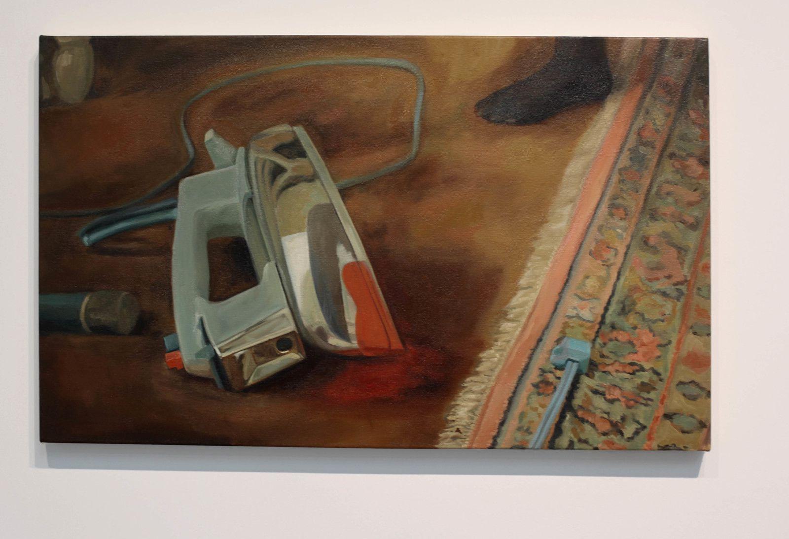 """""""Iron"""", 2020 de Shannon CARTIER LUCY - Courtesy de la Galerie Hussenot © Photo Éric Simon"""