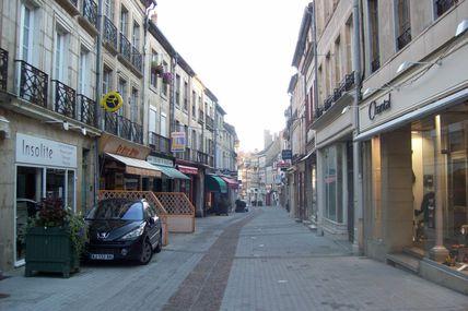 Quartier centre ville : la rue aux Cordiers.
