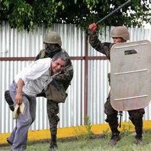 México: 2 de Octubre 2009 Brutal Represión en Oaxaca