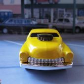 49 DRAG MERC - FORD MERCURY DRAGSTER HOT WHEELS 1/64 - car-collector.net