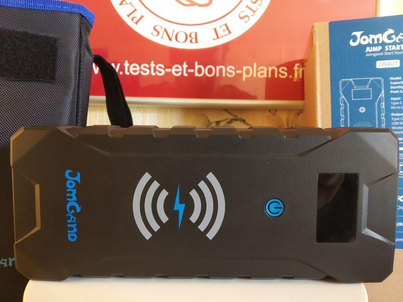 découverte de la batterie externe Jump Starter multifonctions - JomGand JW401 @ Tests et Bons Plans