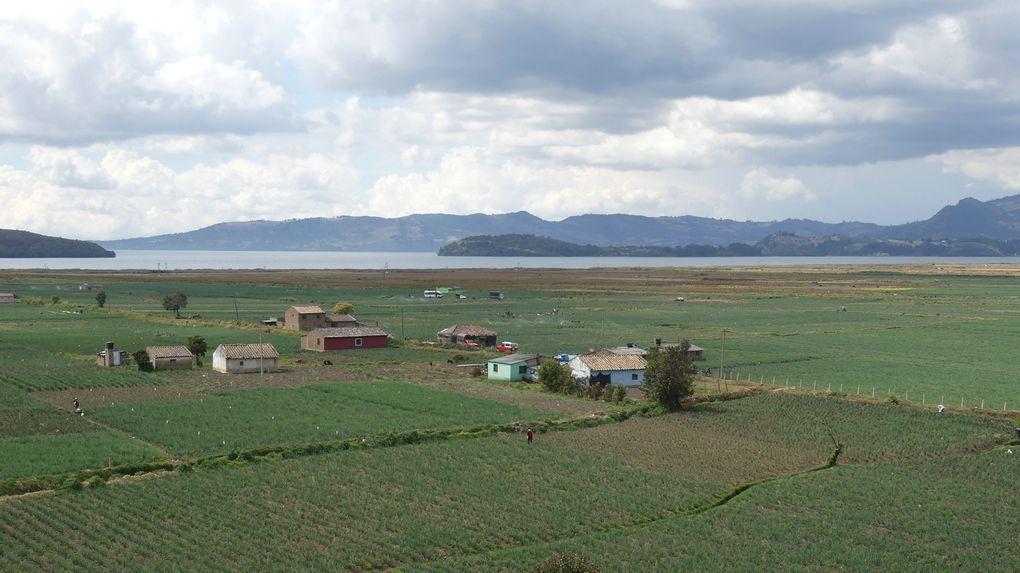 Mongui et la laguna de Tota