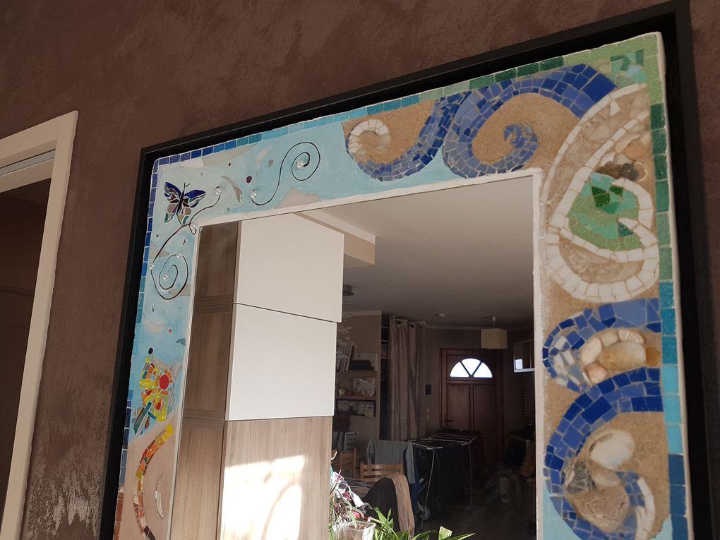 Miroir Les 4 éléments - 70 x 50 cm