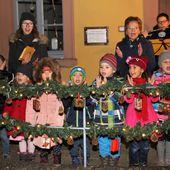 Bürgermeister eröffnete heute 23. Veitshöchheimer Altortweihnacht - Teil 2 - Veitshöchheim News