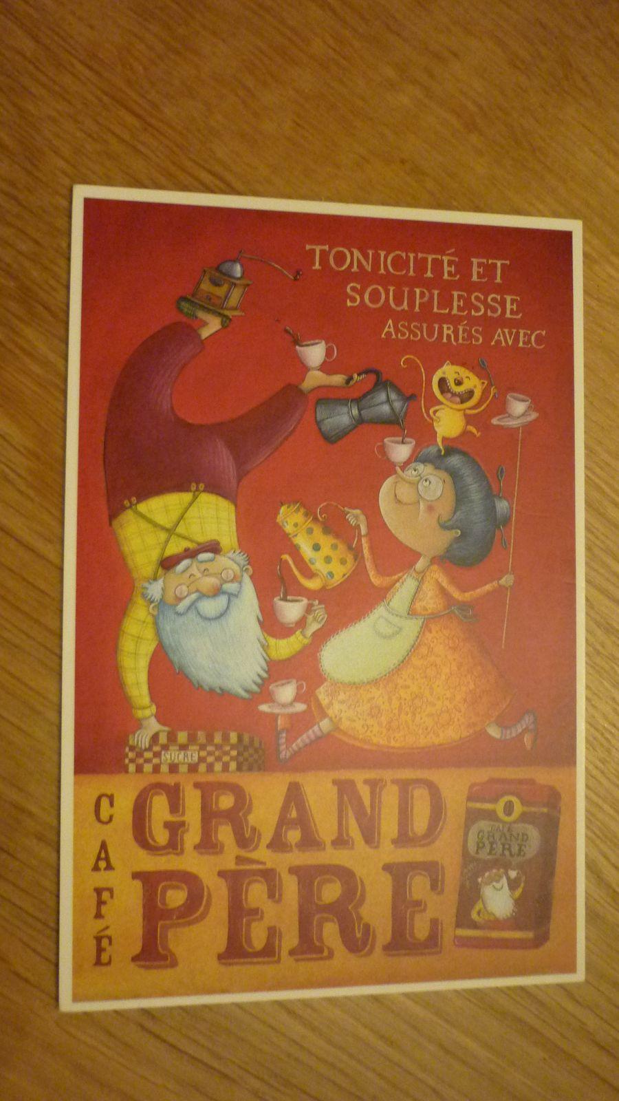 90. Cafés Grand-Père.