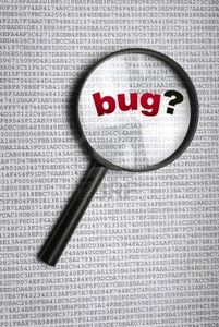 Un bug informatique