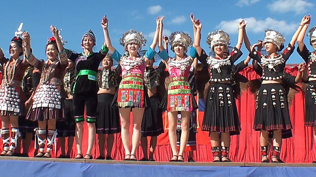 Groupe folklorique de Chine : Quiandongnan