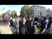 gilet jaune paris acte 48 la police sous tension 12 octobre 2019