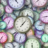 Time hours heures