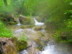 Le ruisseau improbable.