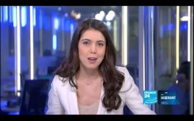 2012 04 03 @23H00 - LANAH KAMMOURIEH, FRANCE 24, LIVE FROM PARIS