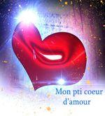 Mon petit coeur d'amour texto d'amour