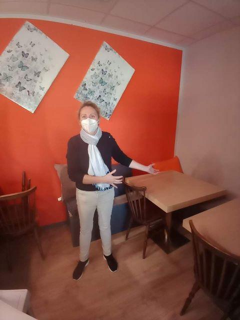 Alexandra Delage du restaurant chez Alex à Millas
