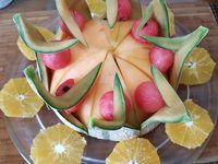 Dessert fruité spécial fête des mères