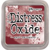RATDO55785 : ENCRE DISTRESS OXIDE AGED MAHOG FEE DU SCRAP