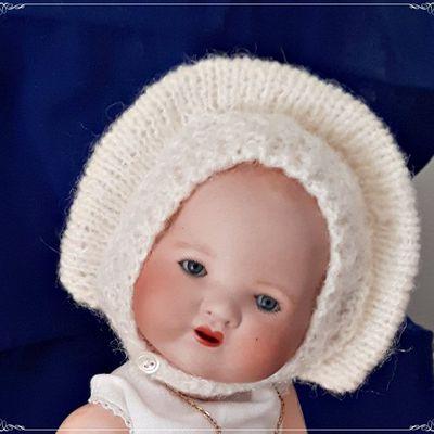 Bambino petit frère de Bleuette  Bonnet Nanouk GL Semaine de Suzette