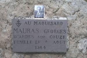 Un nom, un résistant : Georges MAURAS d'Ardes sur Couze