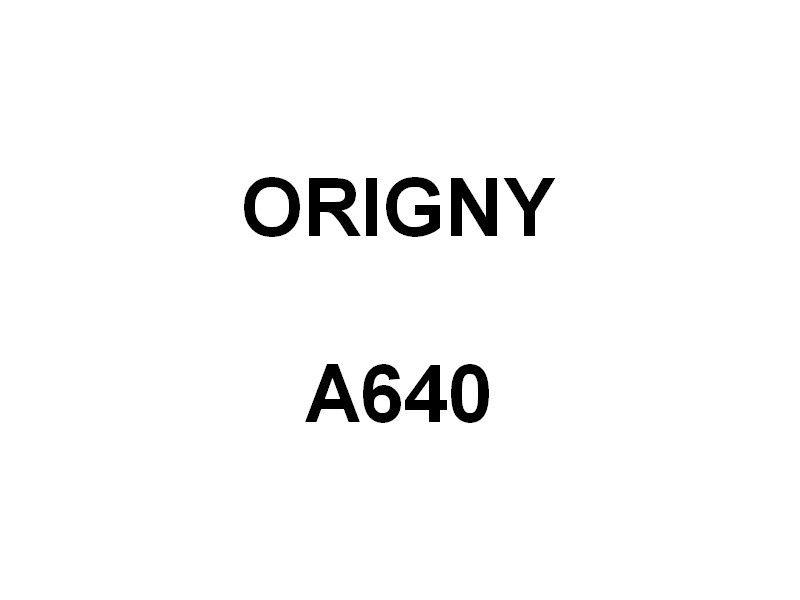 ORIGNY  A640 , Ba timent océonographique , BO