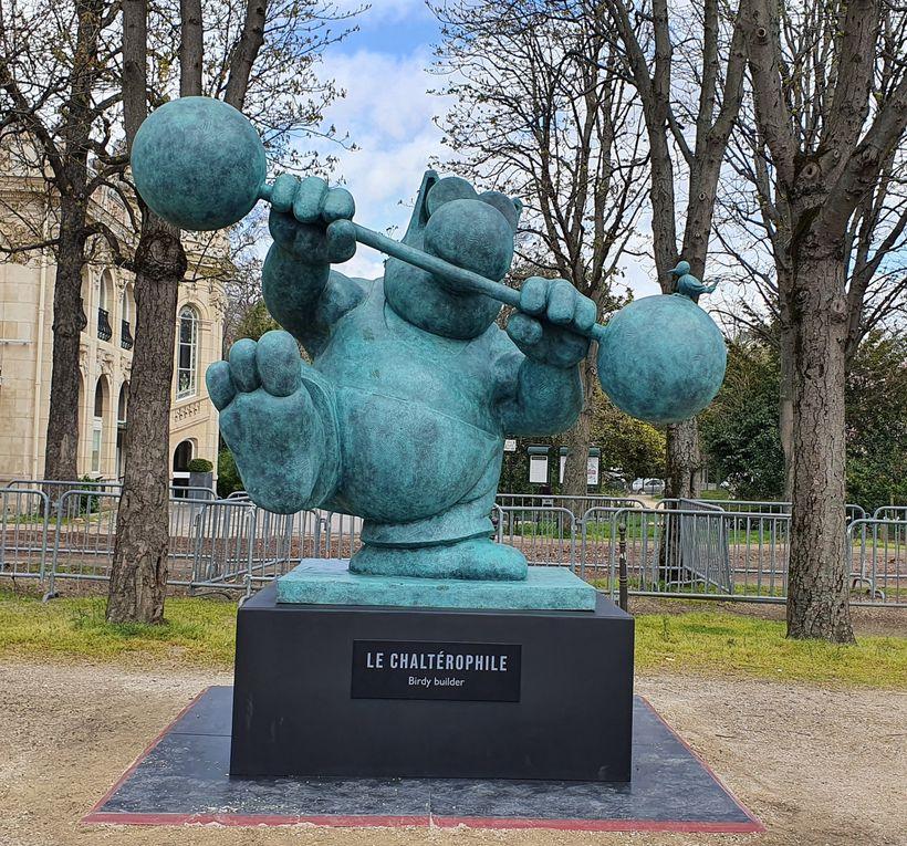 Le Chat déambule par Philippe Geluck