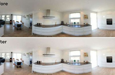 How Professional Real Estate Photo Stitching Services Can Work Wonders