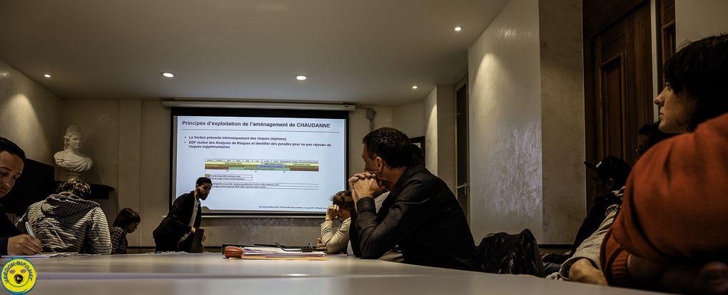 Castellane : Une rencontre de communication et d'échanges avec EDF et les acteurs locaux ...