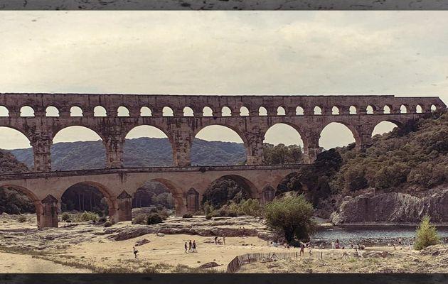 Une semaine aux pieds du Pont du Gard