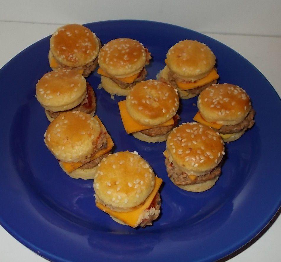 Lidl Chef Select Mini-Burger mit Cheddar
