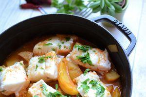 Cocotte de pommes de terre et de poisson