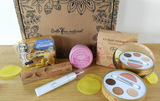 Ma box Belle au Naturel de février 2018