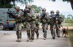 FFCI : Entraînement au combat en zone urbaine du groupe autonome d'aide à l'engagement débarqué