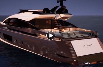 Scoop - First video of the future Azimut Grande S10