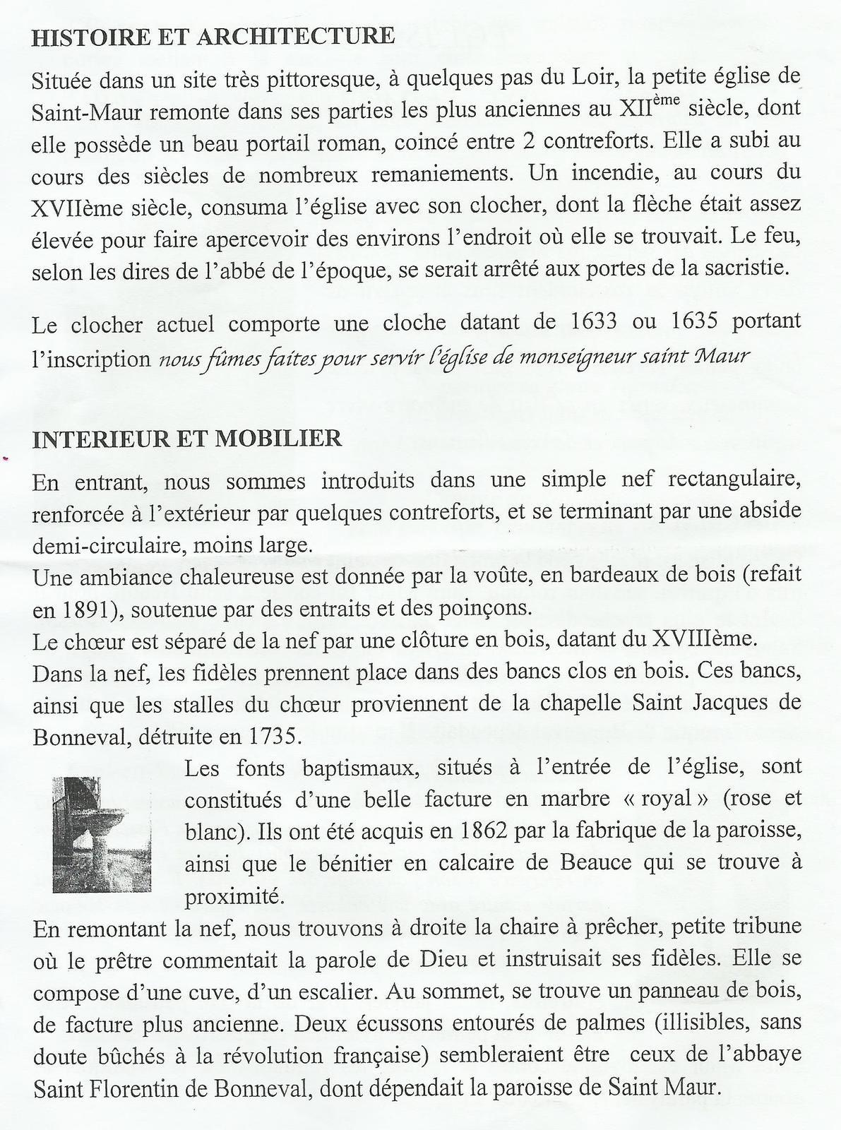 JEP 2020. Saint-Maur sur le Loir