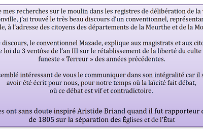 Discours du 10 ventôse de l'An III (28 février 1795)