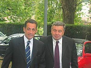 Roland CHASSAIN salue le formidable travail accompli par Nicolas SARKOZY au Ministère de l'Intérieur
