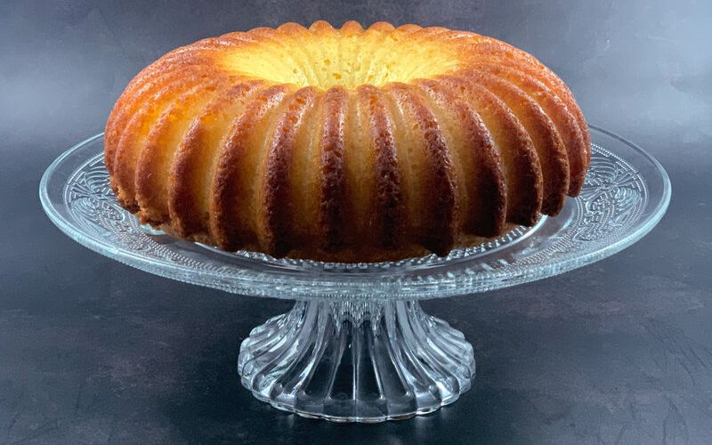 Du citron =un cake
