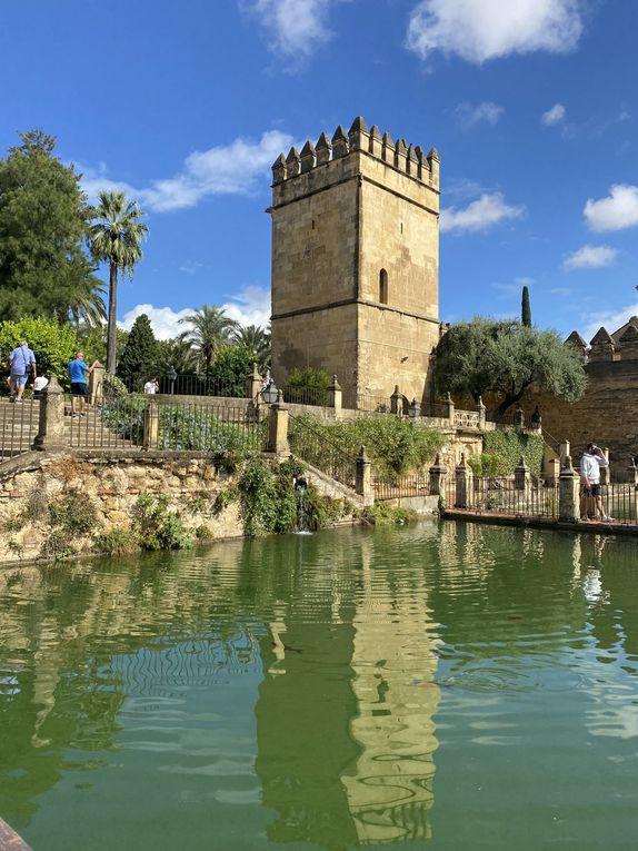 l'Alcazar de Cordoue et ses grands jardins