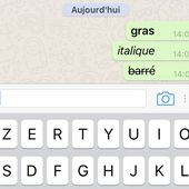 Whatsapp supporte à présent les caractères GRAS, ITALIQUES et BARRES. Dare to be better ? Ok ! - OOKAWA Corp.
