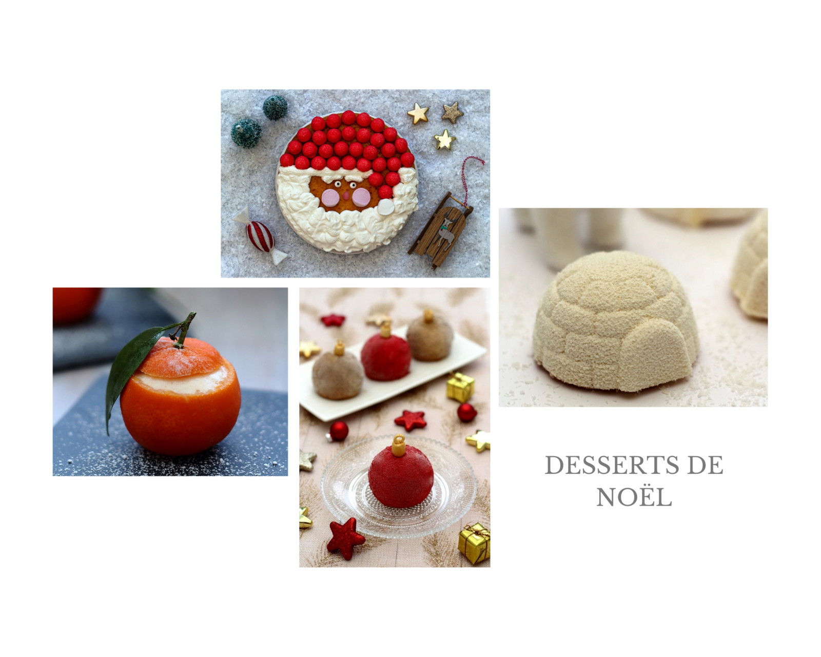 recettes desserts noël