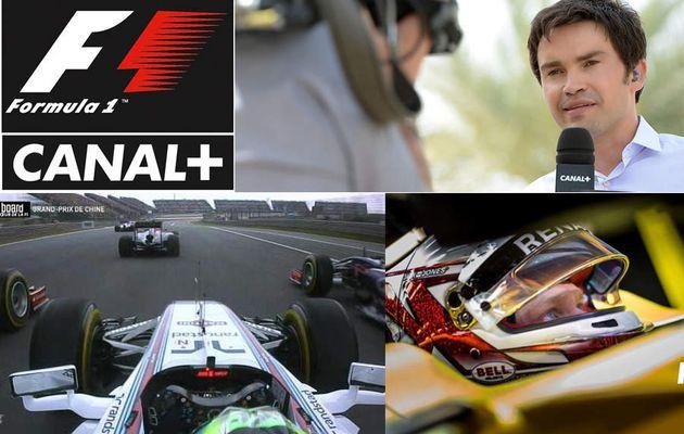 Média : Canal+ remporte les droits de diffusion de la Formule1 jusqu'en 2020