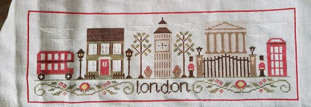 Rome, Paris, Londres By Country Cottage Needleworks - 5